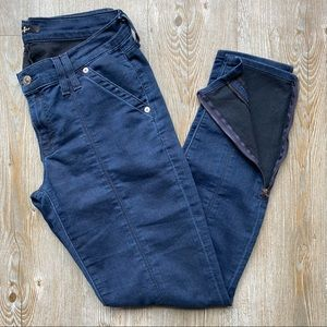 7 FOR ALL MAN KIND | Skinny Jean with Zipper Ankle